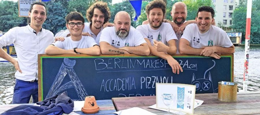 BerlinMakes Pizza Professional Pizza course